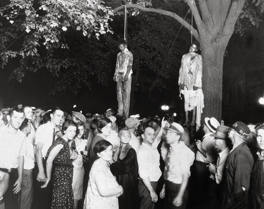 Two Men are Lynched in Marion, Indiana