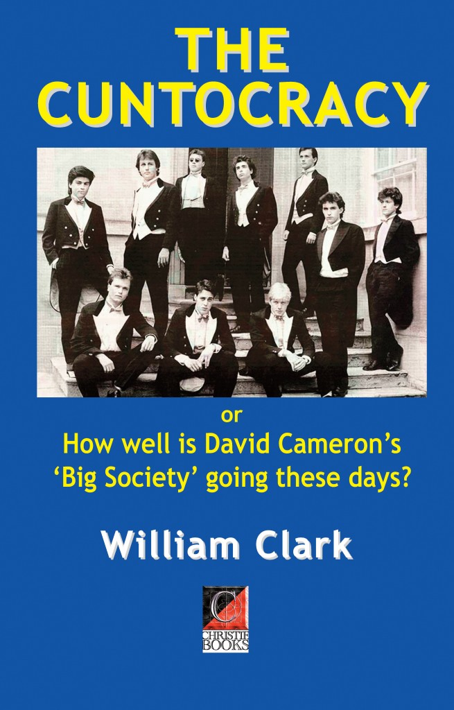 The Cuntocracy — or How well is David Cameron's 'Big Society' going these days?